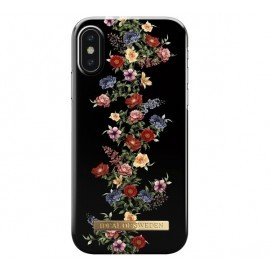 iDeal of Sweden iPhone X / XS dark floral