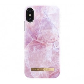 iDeal of Sweden iPhone X / XS Pilion pink Marmor