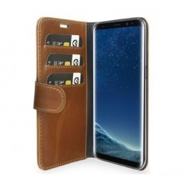 Valenta Classic Luxe Booklet Galaxy S9 braun