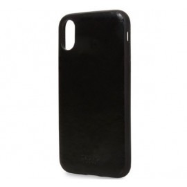 Knomo iPhone X / XS Snap On Case schwarz