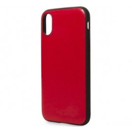 Knomo iPhone X / XS Snap On Case chili-rot