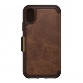 Otterbox Strada Folio iPhone X / XS Espresso Brown Limited Ed.