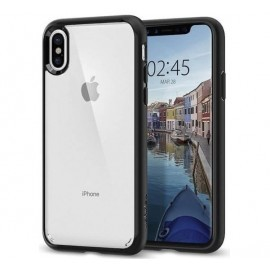 Spigen Ultra Hybrid Case iPhone X Schwarz