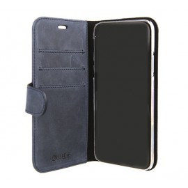 Valenta Booklet Classic Luxe iPhone XS Max Vintage Blau