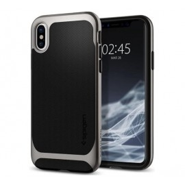 Spigen Neo Hybrid case iPhone X grau