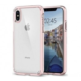 Spigen Ultra Hybrid Case iPhone X Rosa
