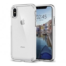 Spigen Ultra Hybrid Case iPhone X transparent
