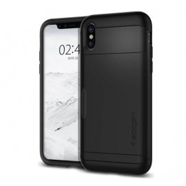 Spigen Slim Armor CS Case iPhone X schwarz