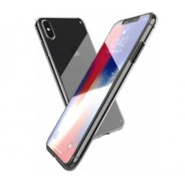 X-Doria 360° Vor- und Rückseitenhülle iPhone XS Max Clear