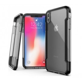 X-Doria Defense Clear Hülle iPhone XS Max schwarz