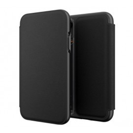 GEAR4 Oxford Leather iPhone XR Schwarz