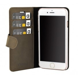 Valenta Booklet Classic Luxe Vintage Brown iPhone 8 / 7 / 6 / 6s