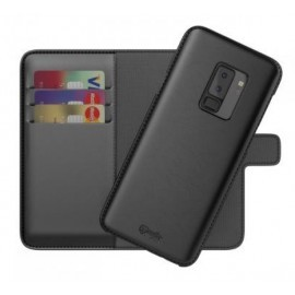 BeHello 2-in-1 Wallet Case Galaxy S9 Plus Schwarz