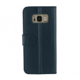 Valenta Booklet Classic Luxe Vintage Blue Galaxy S8