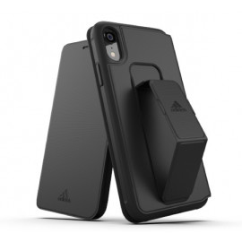 Adidas SP Folio Grip Case iPhone XR Schwarz