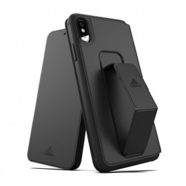 Adidas SP Folio Grip Case iPhone XS Max Schwarz
