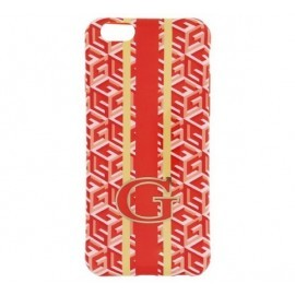 Guess G-Cube TPU Hülle iPhone 6 (S) Orange
