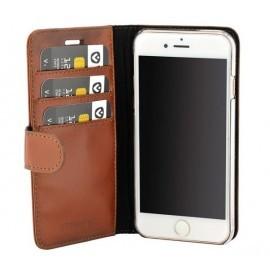 Valenta Booklet Classic Luxe Braun iPhone 8 / 7 / 6 / 6s