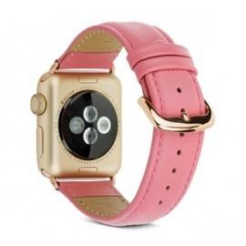 Dbramante1928 Madrid Apple Watch Armband 38 / 40 mm Lady Pink