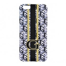 Guess G-Cube TPU Hülle iPhone 6 (S) Schwarz