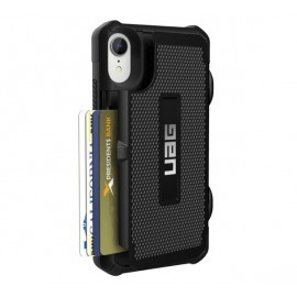 UAG Trooper Hard Case iPhone XR schwarz