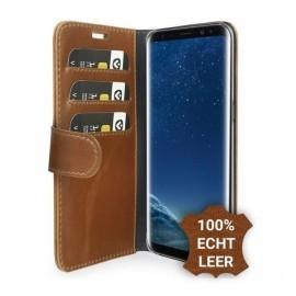 Valenta Booklet Classic Luxe Braun Galaxy S8
