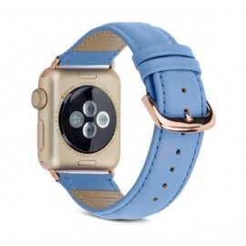 Dbramante1928 Madrid Apple Watch Armband 38 / 40 mm Forever Blue