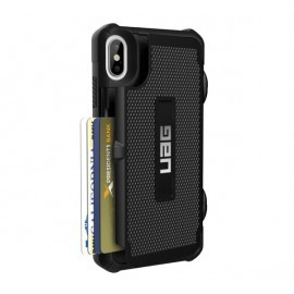 UAG Trooper Hard Case iPhone XS Max schwarz