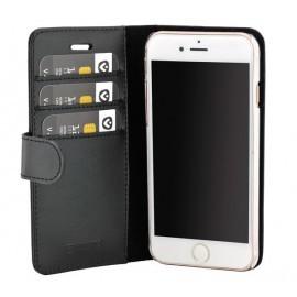 Valenta Booklet Classic Luxe Schwarz iPhone 8 / 7 / 6 / 6S
