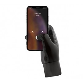 Mujjo Touchscreen Handschuhe (M) schwarz