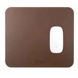 Nomad Mousepad Leather braun
