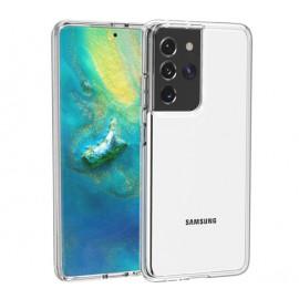 Casecentive Shockproof Case Samsung Galaxy S21 Ultra transparent