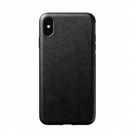 Nomad Rugged Lederhülle iPhone XS Max schwarz