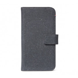 Decoded Leren Wallet Case iPhone 11 anthrazitfarben
