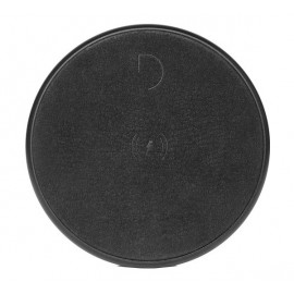 Decoded Leather QI Wireless Charger schwarz