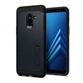 Spigen Slim Armor Case Samsung Galaxy A8 2018 schwarz