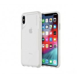 Griffin Survivor Endurance iPhone XS Max Hülle transparent / grau