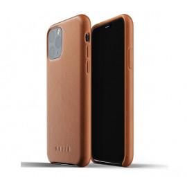 Mujjo Leather Case iPhone 11 Pro Braun