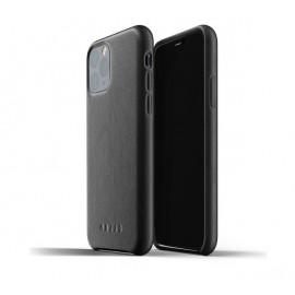 Mujjo Leather Case iPhone 11 Pro Schwarz