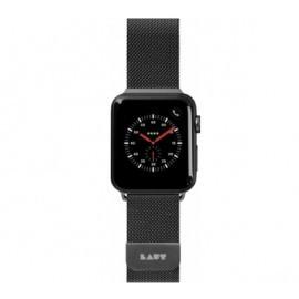 LAUT Apple Watch 38 / 40 mm Edelstahl Armband schwarz