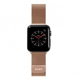 LAUT Apple Watch 38 / 40 mm Edelstahl Armband gold