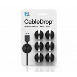Bluelounge CableDrop 6-pack zwart CD-BL
