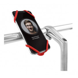 Bone Bike Tie 2 Universalhalterung Fahrrad rot