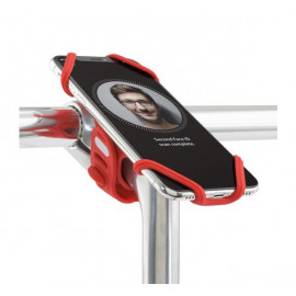 Bone Bike Tie Pro 2 Universalhalterung Fahrrad rot