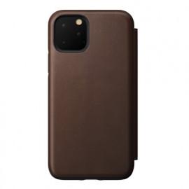 Nomad Rugged Folio Lederhülle iPhone 11 Pro braun