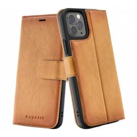 Bugatti Zurigo Wallet Case iPhone 12 / iPhone 12 Pro Braun