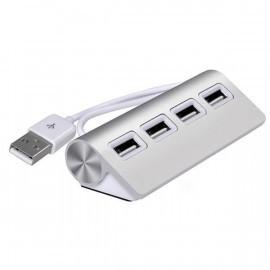 C&S Aluminium USB 3.0 hub silber