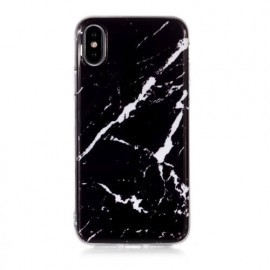 C&S Slim Hardcase Marmor iPhone X / XS schwarz