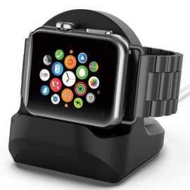 Casecentive Ladestation Apple Watch 1 / 2 / 3 / 4 schwarz