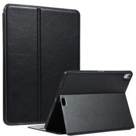 Casecentive Folio Leather Wallet case iPad Pro 11 inch bruin
